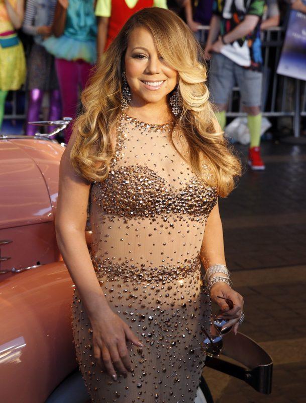 Mariah Carey, gemuk
