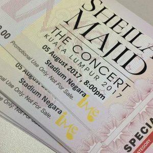 konsert, sheila majid,