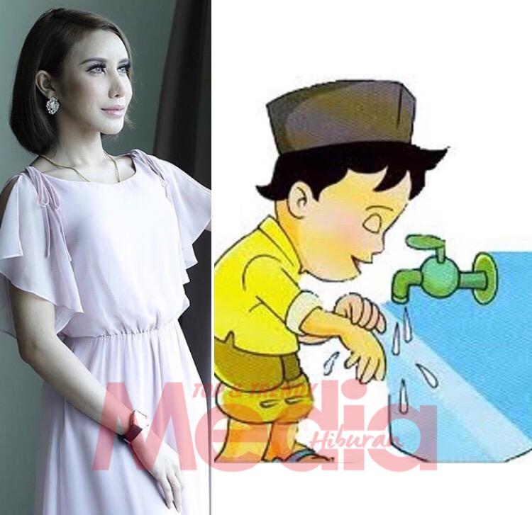 Gambar Kartun Wanita Wudhu Muat Naik Gambar Ambil Wuduk Netizen Puji Safiey Illias Mahu Berubah Media Hiburan