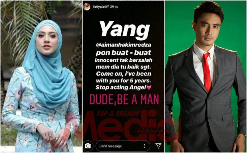 Punca Sebenar Fathia Latiff Dan Aiman Hakim Redza Putus Cinta