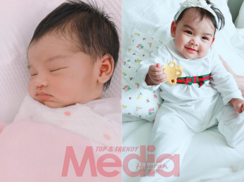 Gambar Comel Pipi Merah Kian Membesar Jom Ikuti Transformasi Foto Siti Aafiyah Dari Lahir Hingga Kini Cute Babygurl Media Hiburan