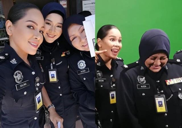Gerak Khas 2019 Inspektor Aleeza Dah Masuk Set Media Hiburan